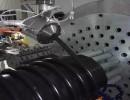 钢丝增强管生产线pe塑料管材挤出机产量高,表面光滑