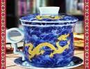 天津青花瓷茶具 开业礼品茶具 祝贺礼品茶具
