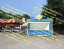双城小区移动实木售货亭 双辽坚果特产零售花车