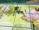 新型背景墙3D打印机瓷砖环保UV平板打印机