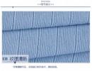 毛衣面料1*1罗纹现货冬季打底毛衫针织布料 四面弹毛线坑条