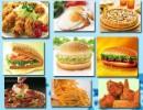 汉堡牛肉饼批发丨西式快餐原料丨进口特长薯条供应丨成品鸡排价格