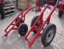 12米水泥杆运杆车炮车飞机轮胎运杆车 运杆车/运杆炮车拉杆车